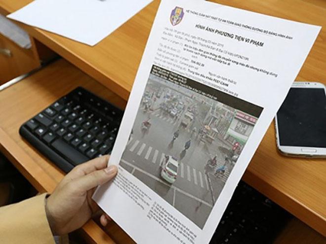 Những điều cần biết về xử phạt nguội vi phạm giao thông cánh tài xế cần biết