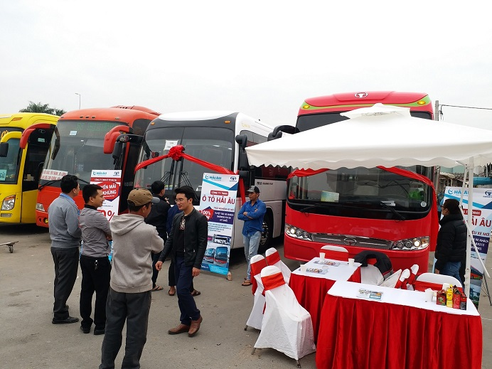 Lauching and introduce Daewoo Bus FX120 and BX212