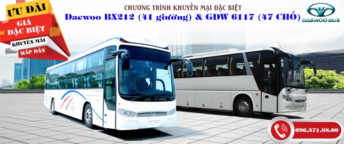 Promotion for customers buying BX212 Bed bus and passenger car 47 seats GDW6117