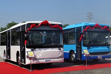 Daewoo Bus Vietnam launches new Bus City BC110 - 80 seats